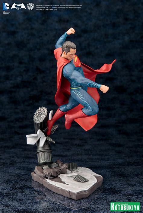 Kotobukiya Artfx Statue Superman kotobukiya batman v superman artfx statues the toyark news