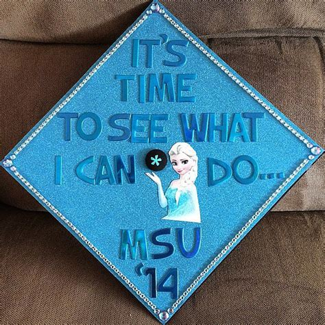 What To Use To Decorate Graduation Cap by Graduation Cap Ideas Popsugar Smart Living