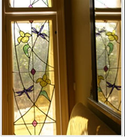 the glass house home stained glass window designs