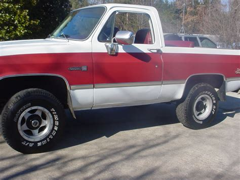 gmc jimmy 83 gmc jimmy k 5 blazer 4x4 4wd for sale in hudson