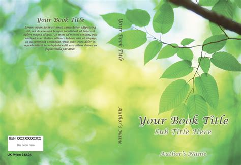 book cover templates free best photos of book cover templates totally free book