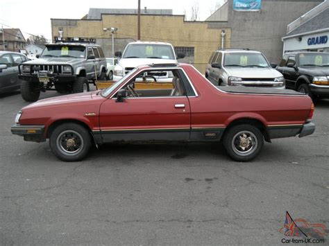 1984 subaru brat 1984 subaru brat gl turbo standard cab 2 door 1 8l