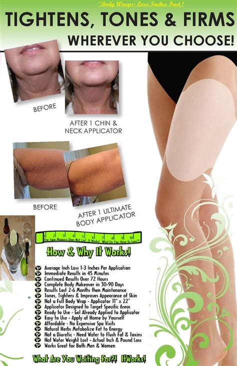 Change Detox Wrap by 80 Best It Works Images On Wrap It