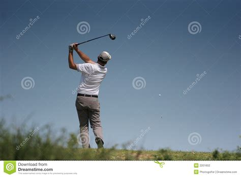 swing man golf men golf swing stock photography image 2201602