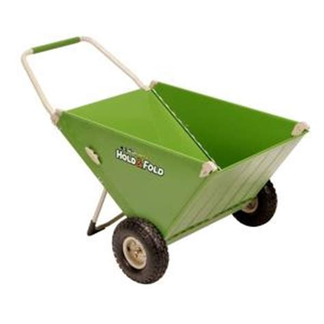tricam 4 cu ft versatile folding yard cart discontinued