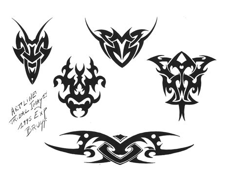 tattoo designs of tribal tribal tattoos