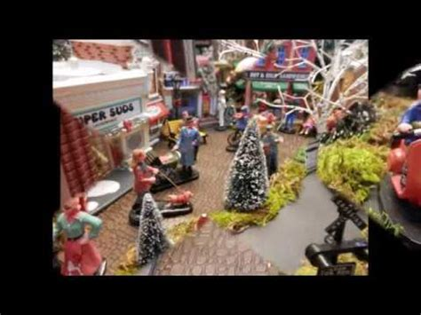 youtube make a village display how to build a miniature