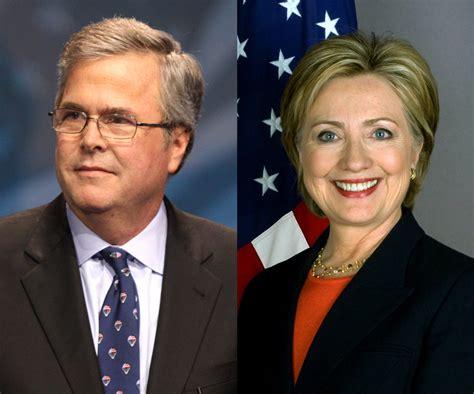 Bush Vs Clinton by Bush Clinton An Even Match In Florida For 2016 Wjct News
