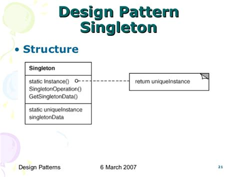 software design pattern singleton cs6201 software reuse design patterns
