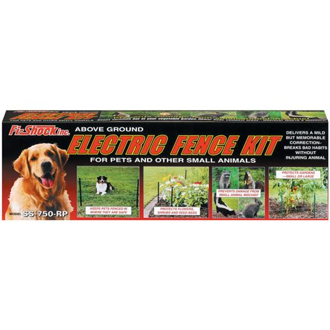 electric fence for small dogs shop havahart ac powered pet or small animals electric fence kit at lowes