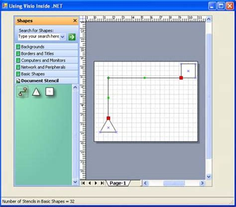 visio drawing tool free drawing visio shapes in the visio activex using c
