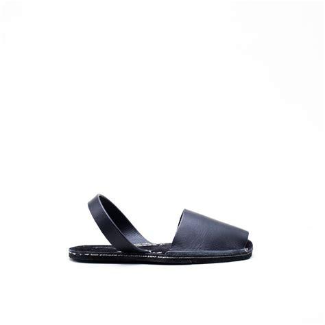 avarca sandals riudavets avarca sandals black from umeboshi garmentory