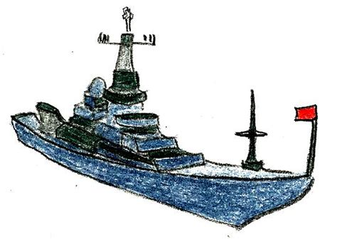 how to ship a how to draw a navy ship 9 steps with pictures wikihow