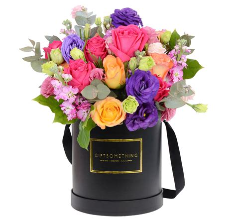 A Box Pink Multicolor Admiration Happiness Preserved Flower gift flowers singapore boxed flower arrangements tips and ideas