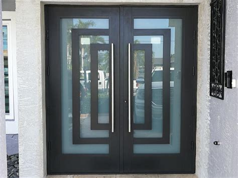 glass entry doors in south florida miami impact windows hurricane shutters custom door