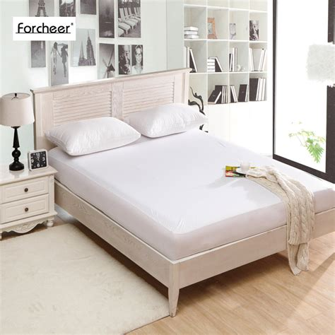 Bedcover Bonita 120x200 bed waterproof cover size smooth waterproof mattress protector cover for bed