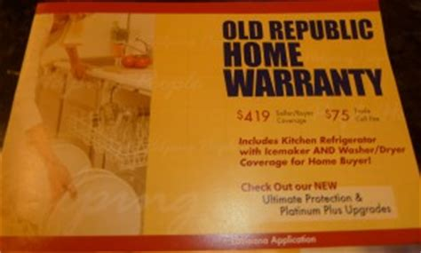 old republic home warranty plans home warranties pay off