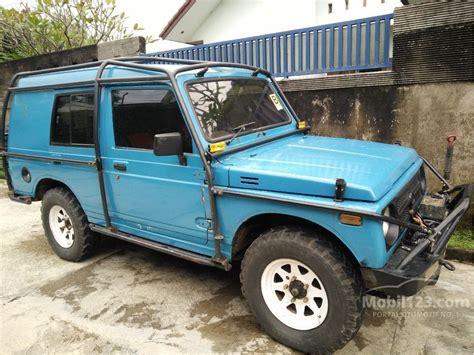 jeep suzuki jimny jual mobil suzuki jimny 1988 1 0 di jawa barat manual jeep