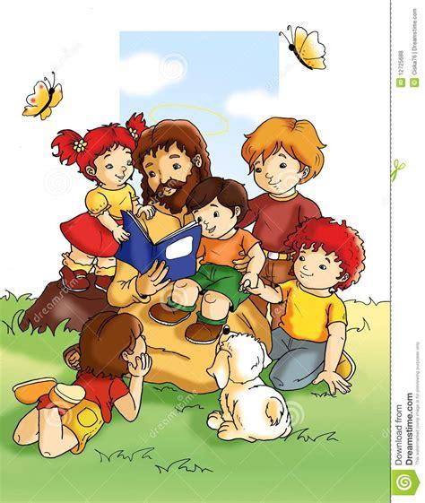 si鑒e v駘o enfant j 233 sus et enfants photos libres de droits image 12725688