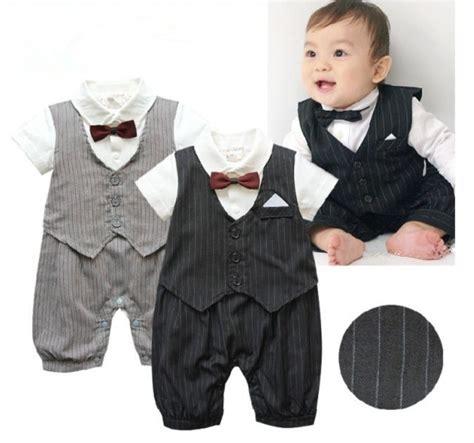 Baju Bayi Costume Gentleman selling 1pc newborn baby boy clothes gentleman wedding romper bodysuit jumpsuit