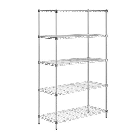 honey can do 5 tier 18 in x 42 in x 72 in shelving unit
