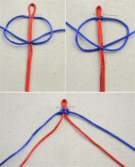 Easy Decorative Knots - 17 best images about nodi di tutti i tipi on