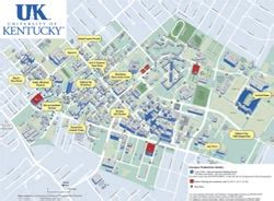 map uky universityparent guide to of kentucky