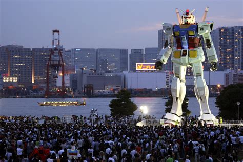 toyko one giant robots officially fly the flag for cool japan the