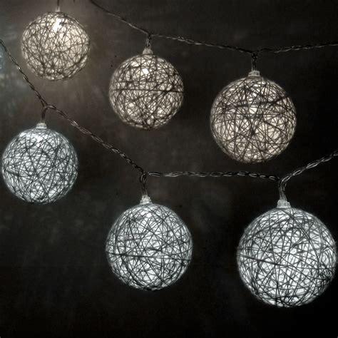 cotton ball string lights dual color cotton ball string lights