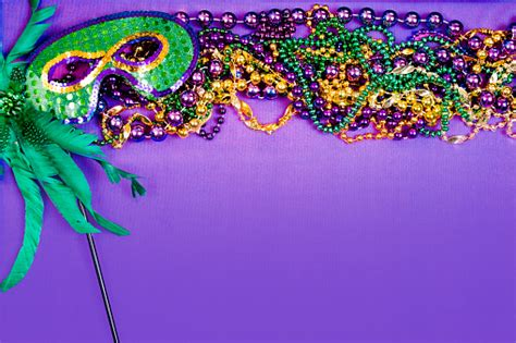 Mardi Gras Pictures Images And Stock Photos Istock Mardi Gras Powerpoint Template