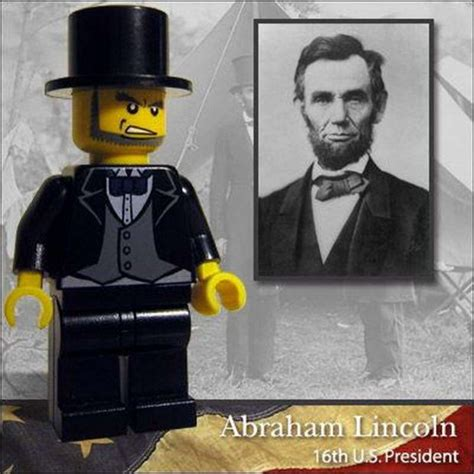lego biography abraham lincoln immortalized in plastic real people made into lego