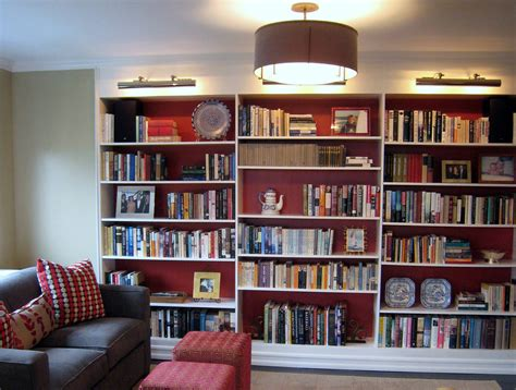 library decoration 15 ideas of library bookcase lighting