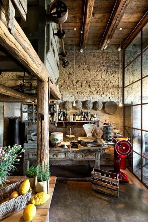 italian rustic earthy kitchen design inspiration homedesignboard