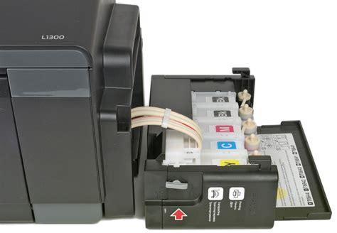 Tinta L1300 Impressora Epson Tanque De Tinta L1300 A3 Sublim 225 Tica