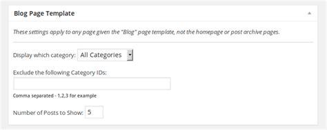 Genesis Framework Theme Settings Blog Page Template Wilwebs Genesis Framework Templates