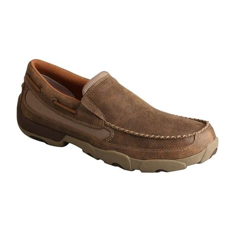 twisted x boat shoes twisted x mens slip on boat shoe