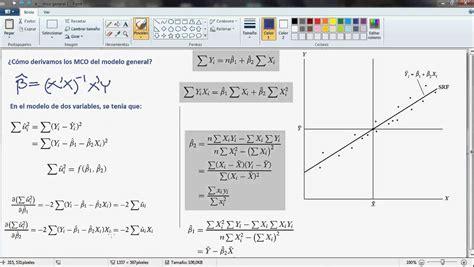 excel minimos cuadrados minimos cuadrados ordinarios 2 y k variables 1 de 2