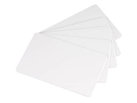 Visitenkarten Blanko by Pvc Blank Cards Evolis