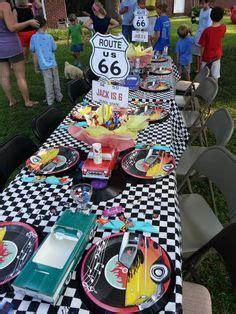 hot car themes nifty fifty on pinterest race car party race car
