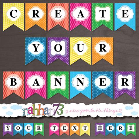 printable banner maker make a birthday banner online free 28 images free
