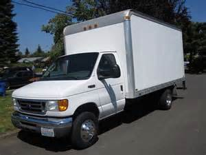 Ford Box Truck For Sale 2004 Ford E450 Box Truck For Sale In Vancouver Washington