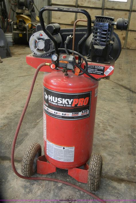 husky pro 26 gallon air compressor item 2042 sold may 1