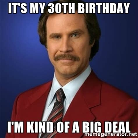 Funny 30th Birthday Meme - 30th birthday meme memes