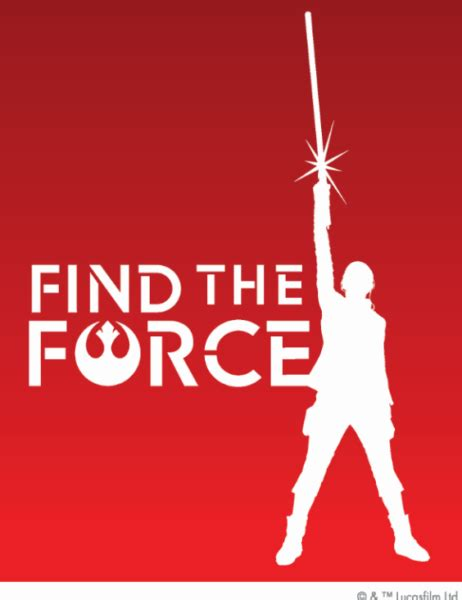 Star Wars The Last Jedi Sweepstakes - quot find the force quot sweepstakes win tickets to star wars the last jedi world premiere
