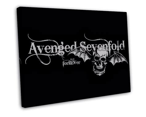 Avenged Sevenfold Metal Band avenged sevenfold metal band 16x12 framed canvas print