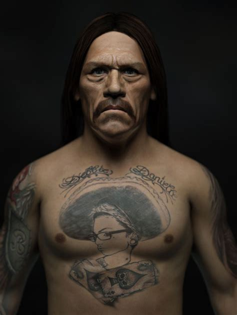 danny trejo chest tattoo mexican butcher i m a big fan of danny trejo i assume