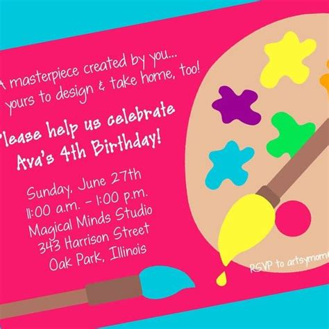 invitation design by morgan art party invitation printable invitation design custom