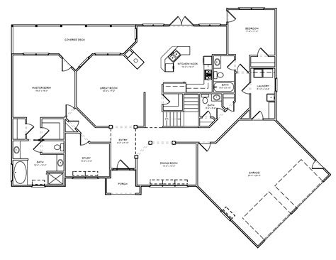 empty nester floor plans empty nest house plan downsizing retirement empty