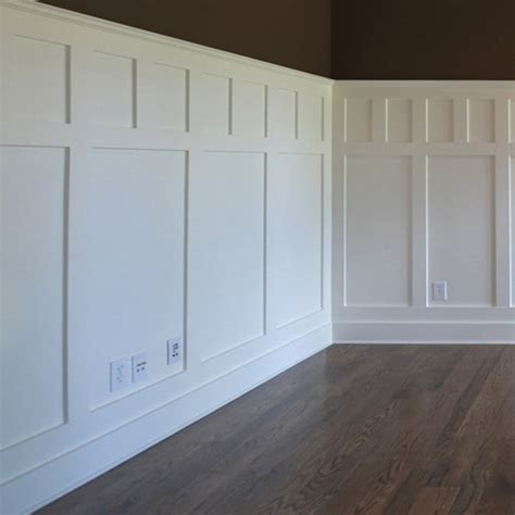 Mission Style Wainscoting by Wainscoting Craftsman Style Contrast Windsorone