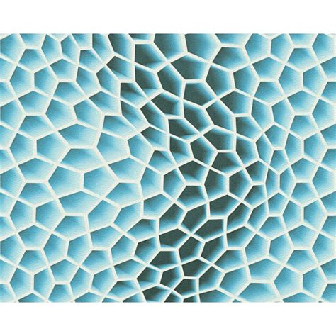 Pola Motif 3d Honeycomb Pattern as creation geometric honeycomb pattern wallpaper abstract